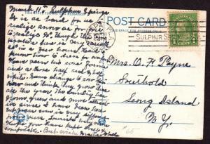 $Florida Machine Cancel Cover, Tampa, 3/11/1929, 1 recorded impression