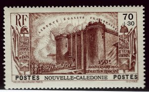 New Caledonia B6 Mint OG VF SCV$13...French Colonies are Hot!