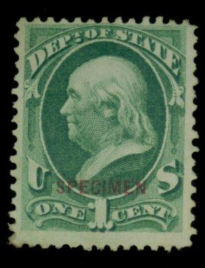 O57s MINT Specimen F-VF Cat$32.50