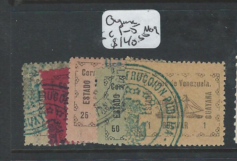 VENEZUELA (P0806B) GUYANA STATE SC 1-5  MOG