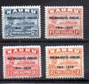 Nauru 31-34 MH