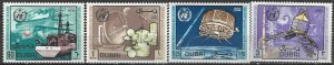 Dubai 121-4  MNH  UPU World Meteorological Day