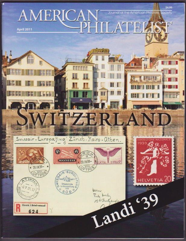 APS Magazine Apr 2011 , Switzerland / Landi '39 - I Combine S/H