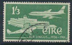 Ireland Eire SG 185  SC#  178  Silver Jubilee Air Lingus  Aviation see detail...