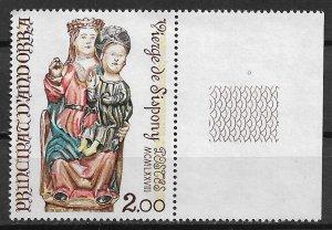 1978 French Andorra 264 Virgin of Sispony MNH