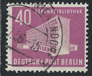 Germany Berlin #Michel 122 40pf Amerika Gedenk bibliothek am