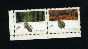 Canada #1285-86 Mint VF NH pair  PD 1.50