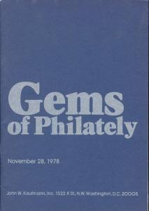 Gems of Philately, Kaufmann 48