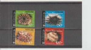French Polynesia  Scott#  823-826  MNH  (2002 Sea Urchins)