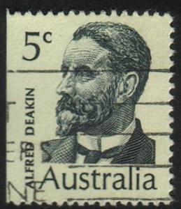 Australia #451 - Alfred Deakin - Used