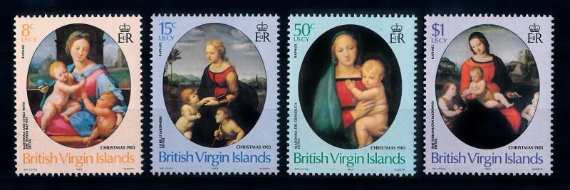 [71279] British Virgin Islands 1983 Christmas Madonna With Child  MNH