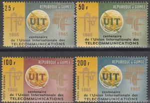 Guinea #380-1, C73-4  MNH F-VF CV $4.75 (SU4882)