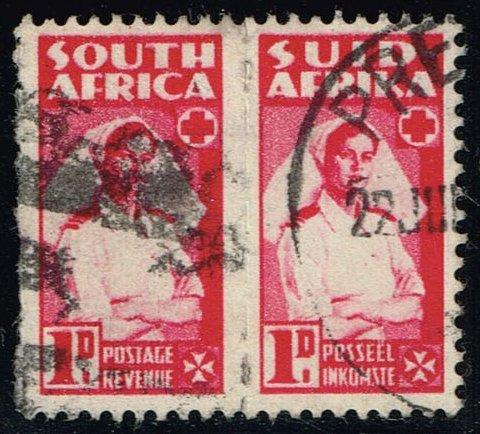 South Africa #91 Nurse Pair; Used (0.50)