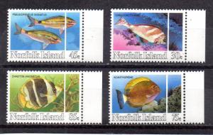 Norfolk Island #339-342 MNH