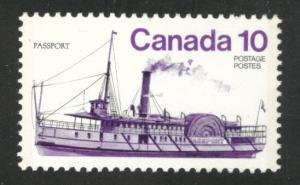 Canada Scott 701 MNH** 1976 Ship stamp