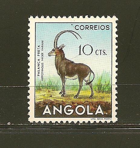 Angola 363 Sable Antelope Mint Hinged