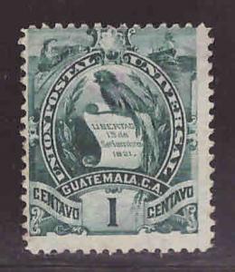 Guatemala  Scott 99 used  Bird stamp