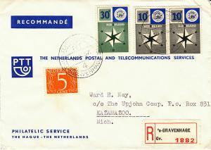 Netherlands - 1957 - SC 341,372-73 - Cover
