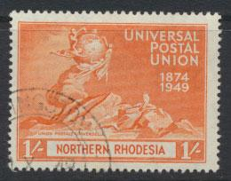Northern Rhodesia  SG 53 SC# 53 Used see detail and scan