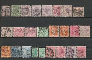 British Colony Australia Victoria Nice Selection Used Stamps 15415