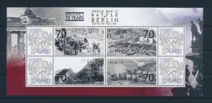 [81153] Ghana 2009 Second World war Battle of Berlin Sheet MNH