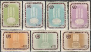 Paraguay #760-6 MNH VF CV $9.00 (SU2035L)
