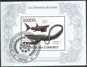 Comoros 2010 Fishes Sheet Used / CTO