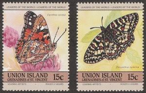 197a-b,MNH Union Island
