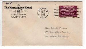 US Hotel, Louisville, Hermitage Hotel   ...  7550030/306