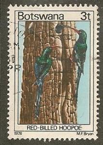 Botswana     Scott  200     Birds    Used