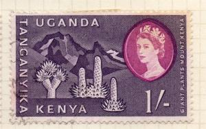 Kenya 1960 Early Issue Fine Used 1S.