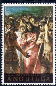 ANGUILLA 1973 EASTER CHRIST PASQUA CRISTO  MNH