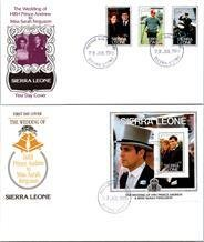 Royalty, Worldwide First Day Cover, Sierra Leone