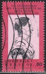 MEXICO 1182 Death Anniv of Josefa Ortiz de Dominguez USED. VF. (701)