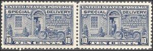 E12 Mint,OG,NH... Pair... SCV $190.00