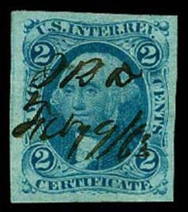 U.S. REV. FIRST ISSUE R7a  Used (ID # 57174)