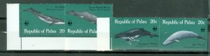 PALAU WILDLIFE #24-27...SET...MNH...$5.00