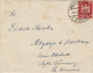 TWO EARLY GERMAN LETTERS WITH CONTENTS INVITATION AND A LETTER