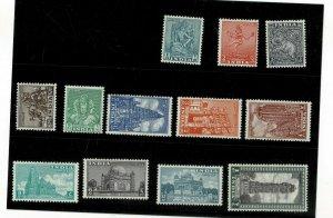 India Indien 1949 Definitiv  arec lot