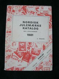 CHRISTMAS SEAL CATALOGUE 1981 (NORDISK JULEMAERKE KATALOG NORDIK) by S ARGANG