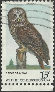 # 1760 USED GREAT GREY OWL