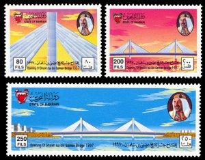 Bahrain 1997 Scott #501-503 Mint Never Hinged