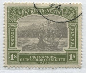 St. Kitts KGV 1923 1/ used