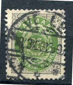 Denmark 1875 SC 32 MI 29 Used