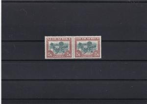 south africa  2½ shillings mint never hinged  stamps pair ref r8896