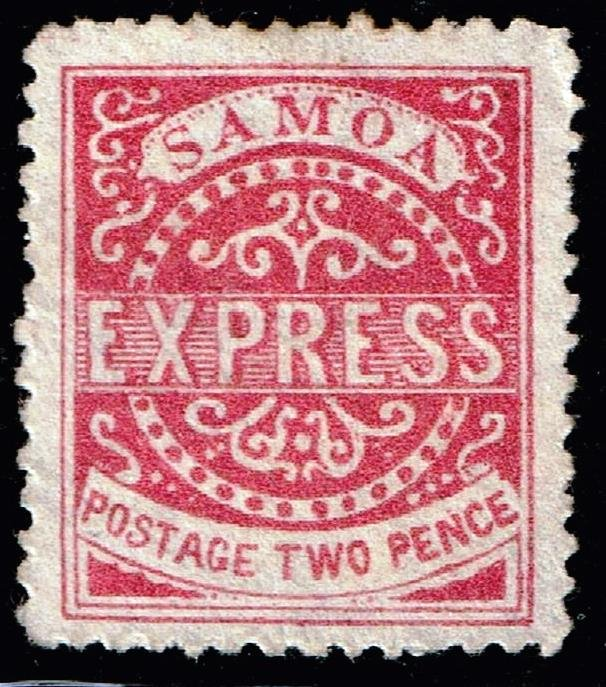 WESTERN SAMOA STAMP  Express Stamp UNUSED NG STAMP