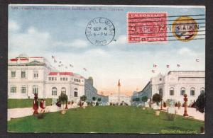 **US 1909 Alaska Yukon Pacific Expo Post Card #16, SC# 370, CV $65.00