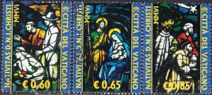 Vatican #1342-1344 Used Set