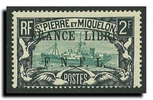 St.Pierre and Miquelon Scott 215