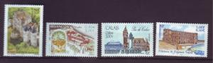 J20372  jlstamps 2001 france set mnh #2813-6 views